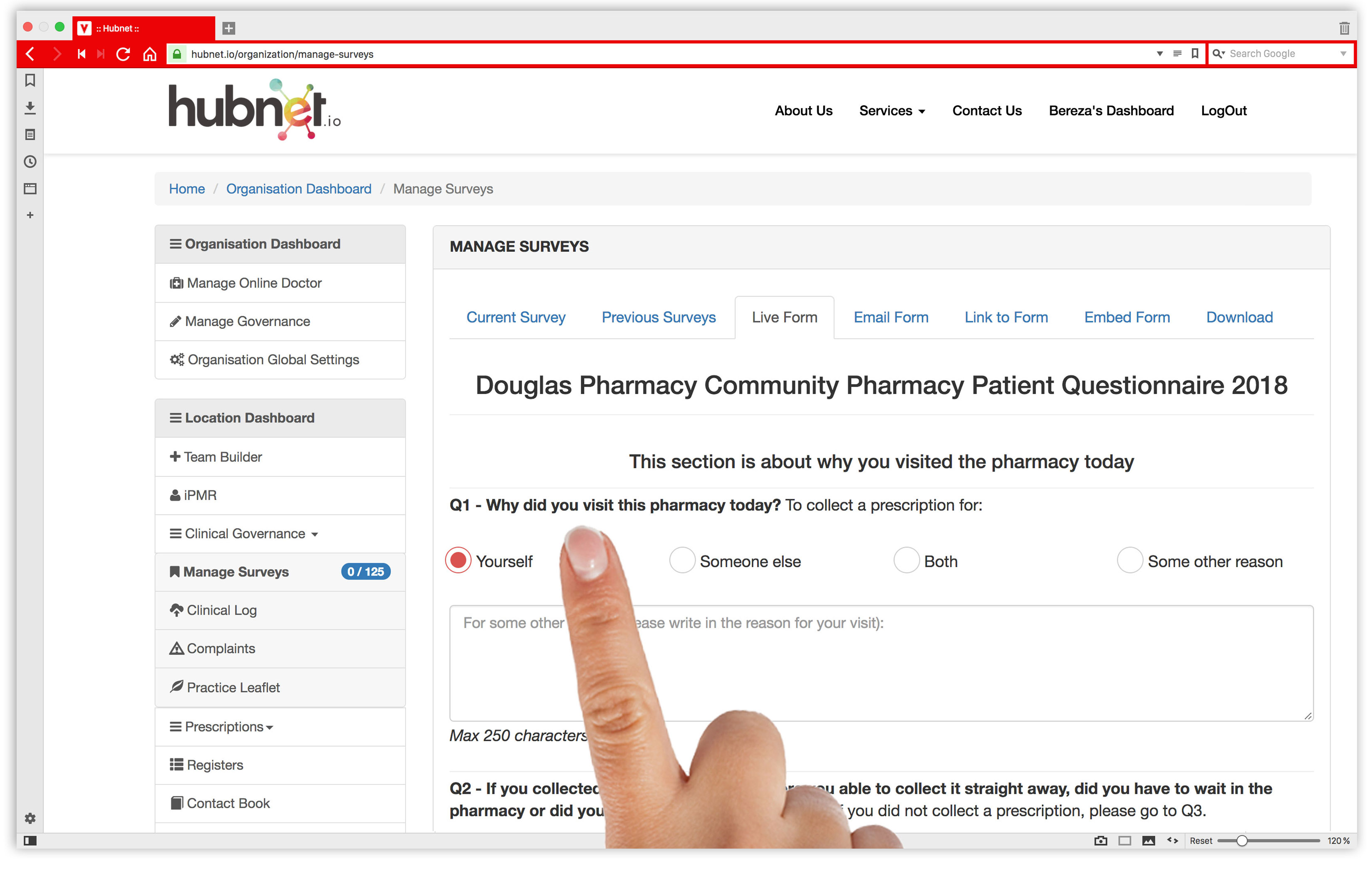 Digital CPPQ Survey Pharmacy
