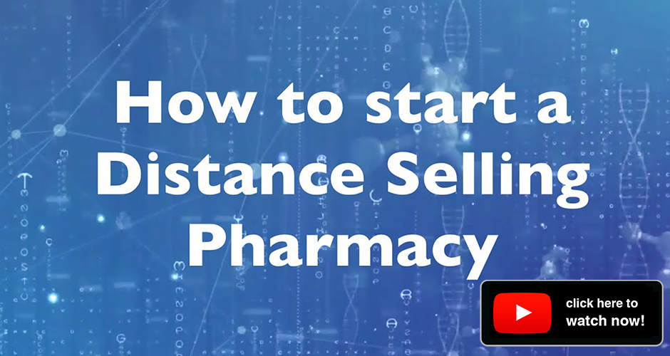 how to start a distance selling pharmacy